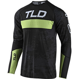 Troy Lee Designs Sprint Ultra Jersey, grime black/glow green